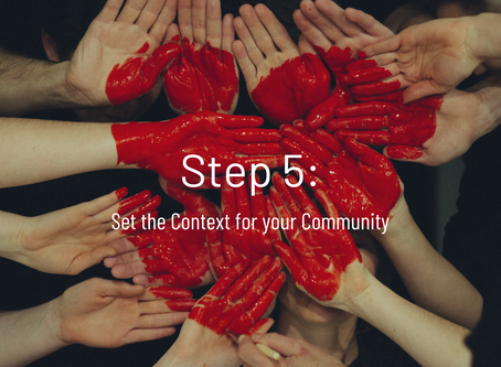 Step 5: Set the context for your community