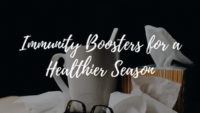 Immunity Boosters for a Healthier Season