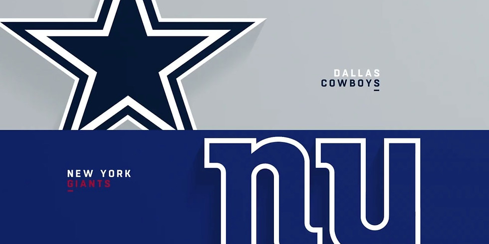 OPEN for the Cowboys v. Giants NFL Monday