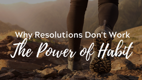 Why Resolutions Don't Work: The Power of Habit.