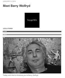 MEET Barry Wolfryd VOYAGE MIA Jan 4, 201
