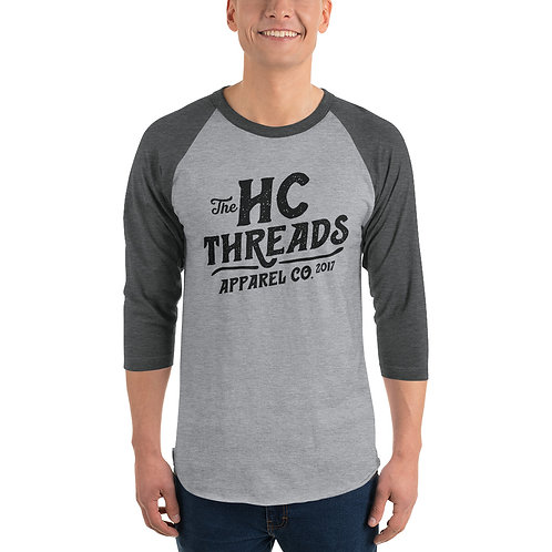 HCT Apparel Co | Unisex 3/4 Sleeve Raglan Shirt 245