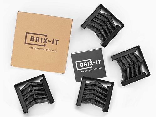 BRIX-IT Fahrradhalter (4er Bundle)