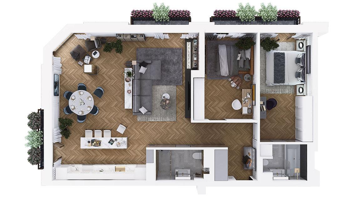 Perla Residence - Apartament 109m2