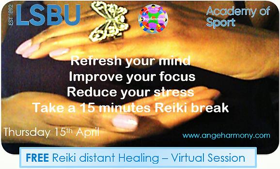 Angeharmony - AOS Free Reiki session Apr
