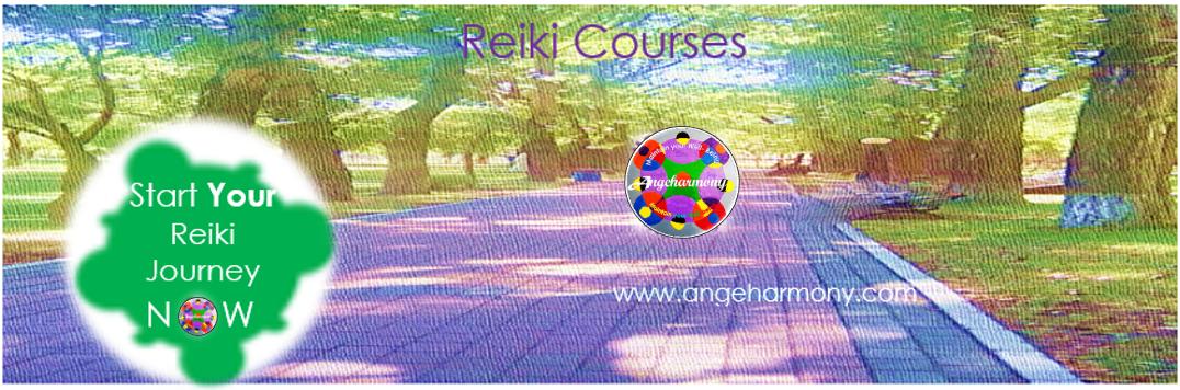 angeharmony -Marie=Ange - Reiki Courses