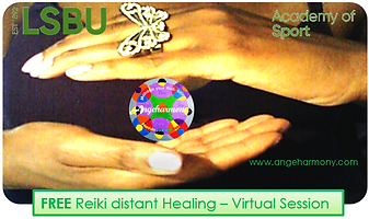 Angeharmony - LSBU - AOS  Reiki session