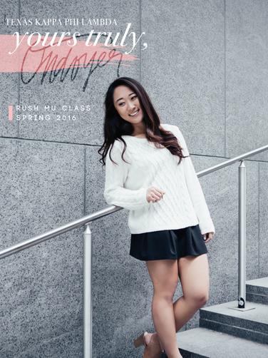 Tiffany Weng *Ondoyer*