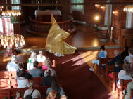 Forestilling i Tomb Kirke: Lysstråle