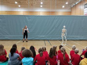 Sceletus - forestilling for barn i alle aldre