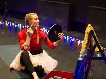 Sirkusprinsessa og hemmeligheten