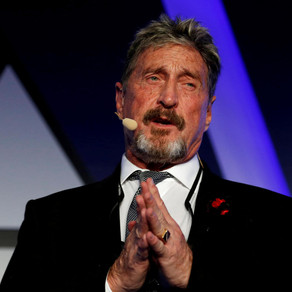 John Mcafee Marketing & Investment Conference Discussing Crypto and Individual Freedoms
