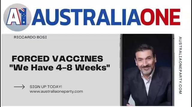 4-8 Weeks Before Forced Vaccinations - Ricardo Bosi