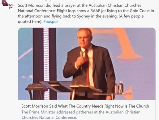 POLICE STALLING! SCOTT MORRISONS MATE BRIAN HUSTON OF HILLSONG HIDING FATHER'S PAEDOPHILIA