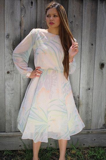 Ursula's Peach Dress
