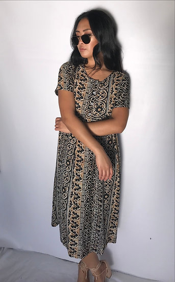 Tribal Baby Doll Dress
