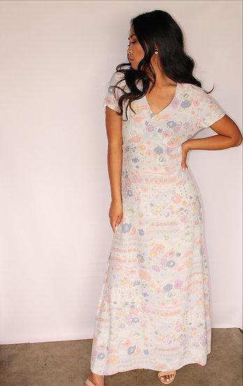 Kim's Floral Dress