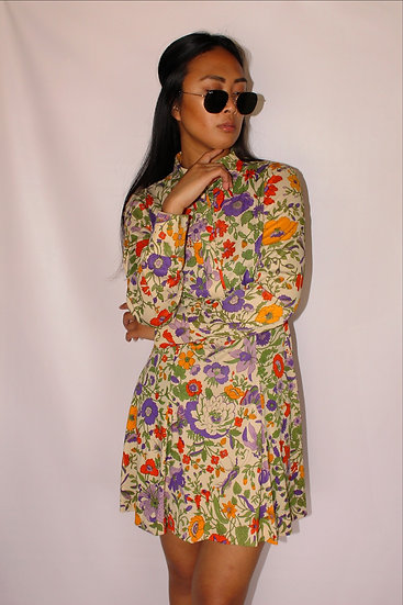 70's Flower Child Dress