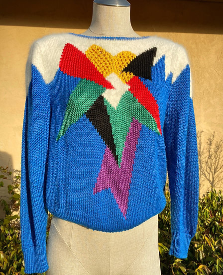 90's Fuzzy Knitted Sweater