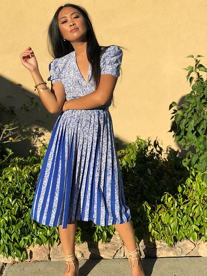 Maggy's Pleated Dress