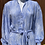 Thumbnail: Ciel Blue Chiffon Dress