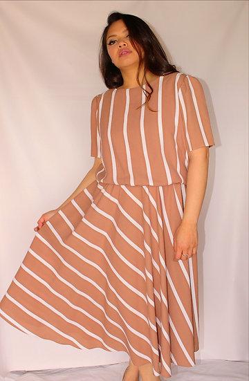 Striking Stripe Dress