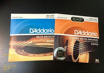 木吉他弦線 Daddario