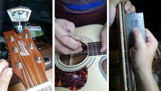 木吉他調音