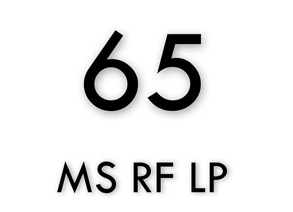 TSMC 65nm MS RF LP 100 Additional Samples