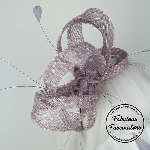 GWEN Lilac Fascinator