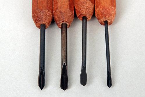 Dockyard Micro V-Tool Set (4 Pieces)
