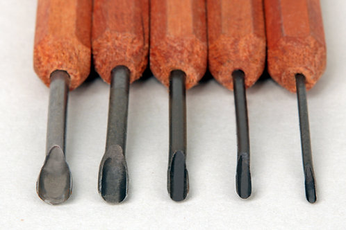 Dockyard Micro Tools Gouge Set (5 Pieces)