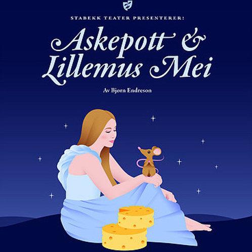 Askepott og Lillemus-Mei (lydbok)