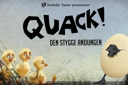 Quack! Den Stygge Andungen (video) - blått lag