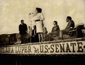Clara Luper running for U.S. Senate