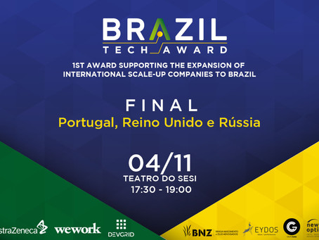 5 scale-ups from abroad will compete for the final pitch in São Paulo