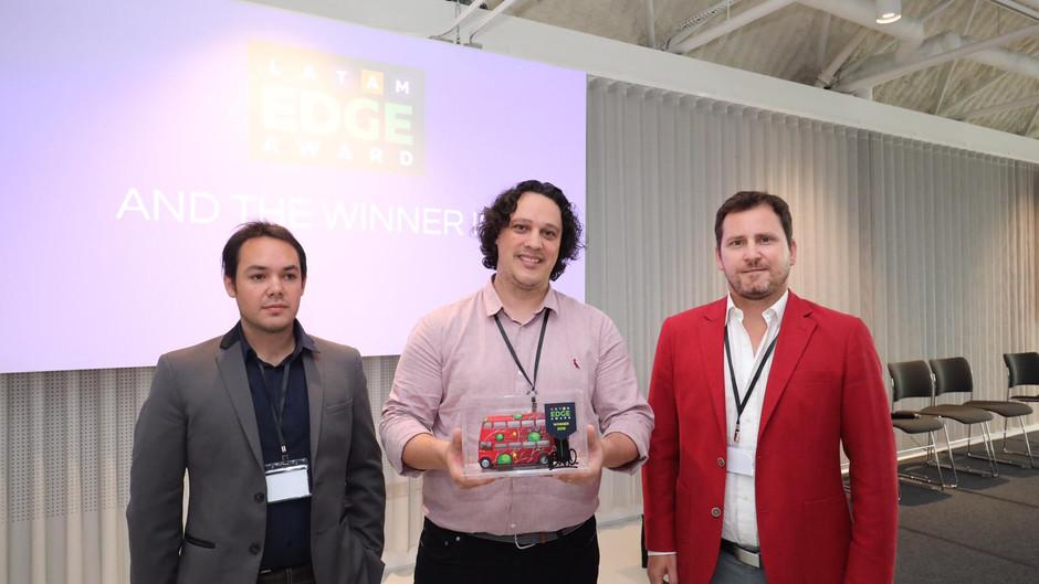 Brazilian scale-up PlataformaVerde wins  the Latam Edge Award in London today