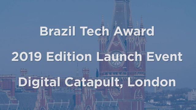 Brazil Tech Award 2019 launched in London