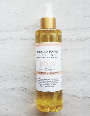 Moisturizing Face & Body Oil | with Insect Barrier Protection