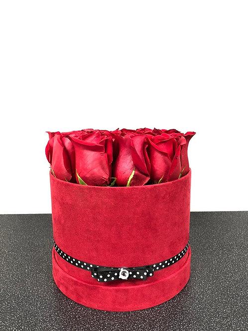 Luxury Velvet Hatbox