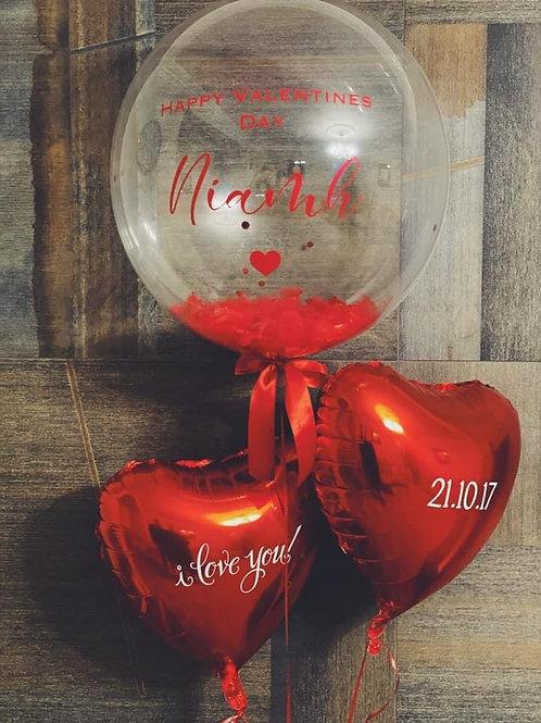 Heart Foiled Balloon