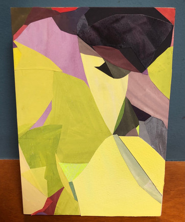 """""""Early April"""", Stacey Woods, Group Show, """"Art in the Year of Uncertain Time"""" October 2020"""
