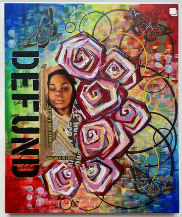 """Africa Harris, Group Show """"Art in the Year of Uncertain Time"""", October 2020"""