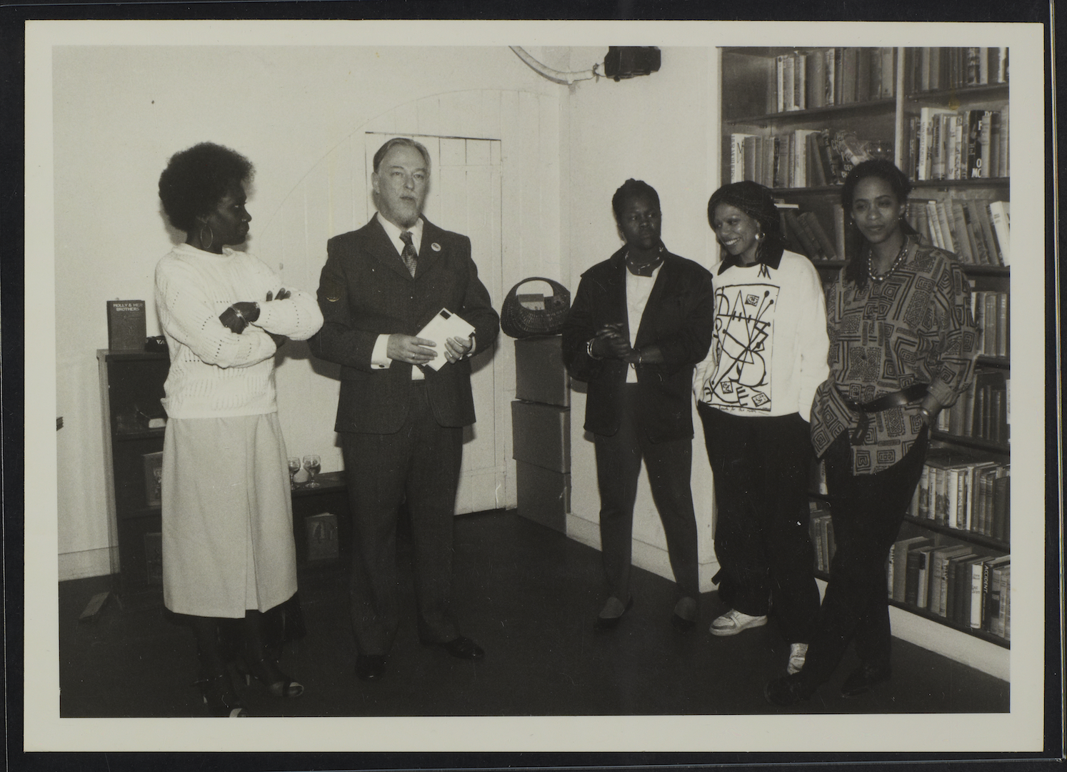 08 L to R - Jessica Huntley, Martin Luther King Jr, unknown, Stella Dadzie _ Suzanne Scafe (Memorial