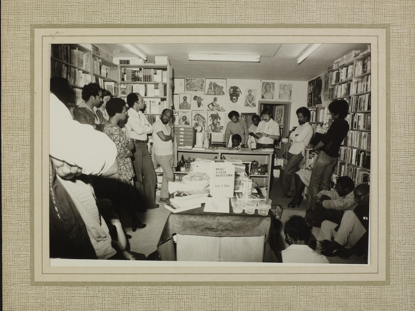 04 Bookshop event. c1970s. Huntley Archives at London Metropolitan Archives_Archives Series Ref-LMA_