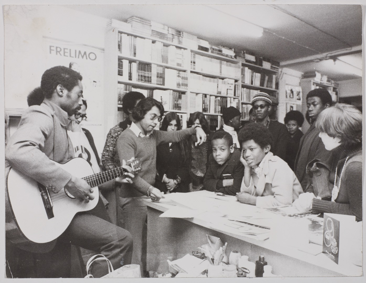 05 Bookshop event. c1970s. Huntley Archives at London Metropolitan Archives_Archives Series Ref-LMA_