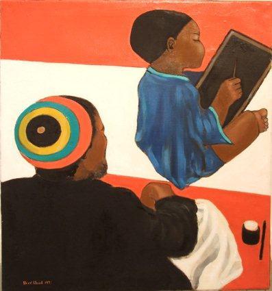Errol Lloyd, The Lesson, 1972, oil on canvas, (c) Errol Lloyd copy.jpg