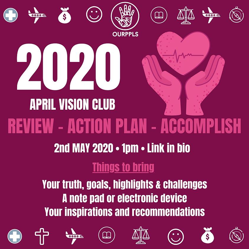 APRIL VISION CLUB