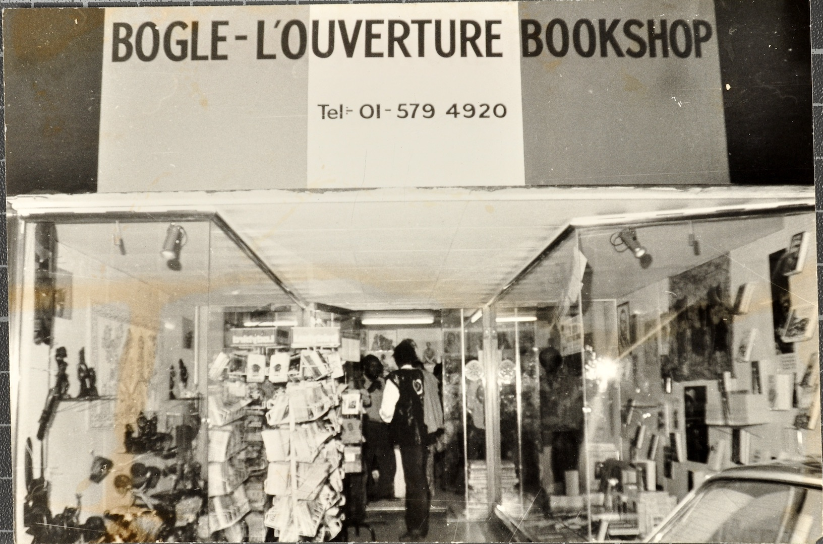 02 Bogle-L'Ouverture Bookshop. c1970s. Huntley Archives at London Metropolitan Archives