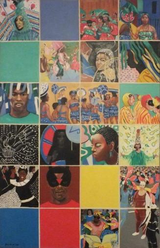 Errol Lloyd, Notting Hill Carnival, 1988, oil on canvas. (C) Errol Lloyd copy.jpg